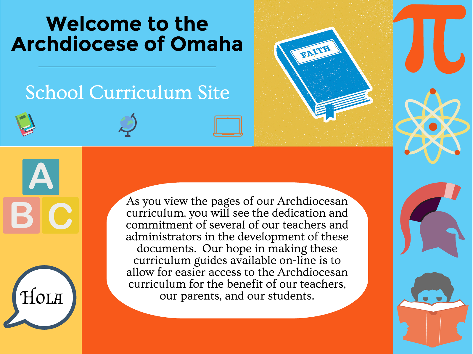 curriculum front banner