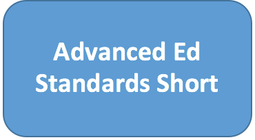 Advanced Ed Standards